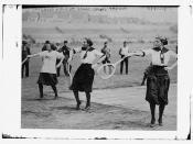 Chicago girls at Sokol Sports, Prague, Austria  (LOC)