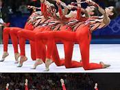 Rhythmic gymnasts from Greece in the 2000 Sydney Olympics