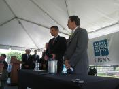 CIGNA Announcement & First Five bill signing