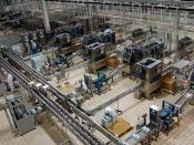 Mengniu production line in plant near Hohhot, Inner Mongolia