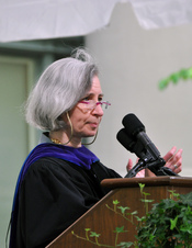 English: Dean Professor Martha Minow, Harvard Law Commencement 2010
