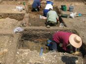 English: Excavations at Hitcham 2 (case study)