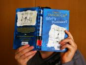 English: pupil is reading a book