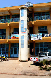 English: Cybercafé in the outskirts of Kigali, Rwanda