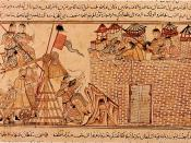 Mongols Besieging A City In The Middle-East, 13th Century