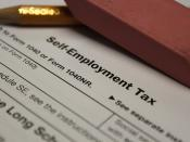 Self Employment Tax Form - Schedule SE