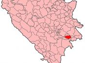 Gorazde Municipality Location