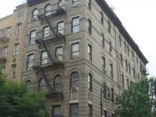 The Greenwich Village building seen in TV series Friends, 90 Bedford Street, New York, 10014.