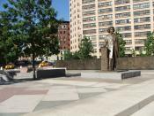 English: Frederick Douglass Circle (Half)