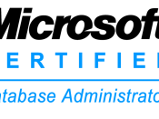 English: Microsoft Certified Database Administrator