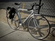 Surly Cross Check with Ortleib Pannier