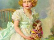 Philip Alexius de Laszlo: Princess Elizabeth of York, currently Queen Elizabeth II of the United Kingdom, painted when she was seven years old (1933)