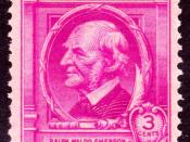 English: Ralph_Waldo_Emerson_1940_Issue-3c.jpg Category:Famous Americans Issues Category:Ralph Waldo Emerson