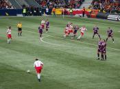 Direkter Freistoß / Direct free kick (Red Bull Salzburg vs. Austria Wien in EM-Stadion Wals-Siezenheim Svenska: En frispark på väg att slås