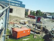 2005.07.05 - Byggeplassen med sementblander