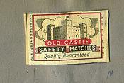 Matchbox labels. c 1960. Woolfold Co-op, Alfred Preedy & Sons Ltd.,Dudley.