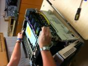 English: disassembling a laser printer