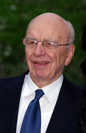 English: Rupert Murdoch at the Vanity Fair party celebrating the 10th anniversary of the Tribeca Film Festival.
