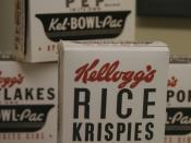 Vintage Rice Krispies box.