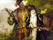 King Henry and Anne Boleyn Deer shooting in Windsor Forest