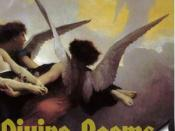 English: Art cover for John Donne's divine poems