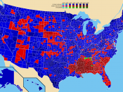 Election results by county. Lyndon B. Johnson Barry M. Goldwater Unpledged electors