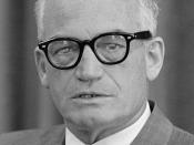English: Senator Barry Goldwater.
