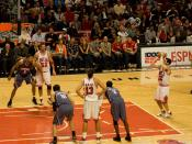 No one was immune to horrible free throw shooting. The normally reliable Kirk Hinrich missed two free throws that could have put the game out of reach. The Bulls missed seven of eight free throws down the stretch.