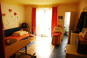 English: Room D69 of Lighthouse Wien, a shelter for formerly homeless drug addicts