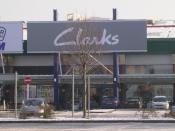 English: Clarks Shoes - Crown Point Retail Park