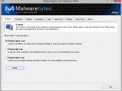 Malwarebytes' Anti-Malware version 1.46 - a proprietary freeware antimalware product