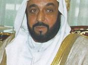 Current President of the United Arab Emirates, Khalifa bin Zayed Al Nahyan