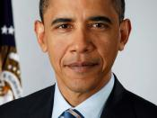 English: Cropped version of File:Official portrait of Barack Obama.jpg. The image was cropped at a 3:4 portrait ratio, it was slightly sharpened and the contrast and colors were auto-adjusted in photoshop. This crop, in contrast to the original image, cen