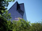 English: I (Bryan Wittal) took this photo of the Canadian Mint in Winnipeg, Manitoba in August 2005.