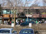 A free burrito day queue at a Chipotle Mexican Grill in East Lansing, Michigan.