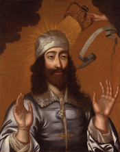 King Charles I, by unknown artist, given to the National Portrait Gallery, London in 1971. See source website for additional information. This set of images was gathered by User:Dcoetzee from the National Portrait Gallery, London website using a special t