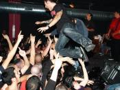 Stagediving @ the Adolescents