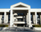 The headquarters of the Supreme Court of Nevada in Carson City.