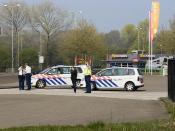 Cops working hard