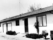 Peoples Temple Dorm at Santa Rosa Junior College