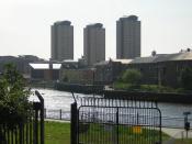 English: Urban regeneration by River Wear