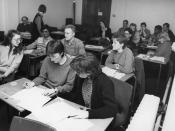 Diploma in Housing Course, March 1986