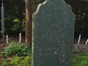 English: Grave of Sir Cecil Beaton - Broad Chalke Churchyard Born Cecil Walter Hardy Beaton in London on 14 Jan 1904, he died at Reddish House, his home at Broad Chalke, on 18 Jan 1980. Best known for his work as a Royal Court and 'Society' photographer,