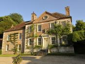 English: Reddish House, Broad Chalke, Wiltshire. Former home of photographer Cecil Beaton where he photographed many famous people of the day, and later the home of singer Toyah Wilcox and her husband Robert Fripp of King Crimson.