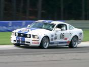English: Ford Mustang GT (racing GT car).