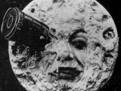English: Screenshot from Le Voyage dans la lune (A Trip to the Moon) (1902)