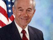 Ron Paul, member of the United States House of Representatives from Texas.