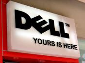 English: Dell's tagline 'Yours is Here', as seen at their Mall of Asia branch, Pasay City, Philippines
