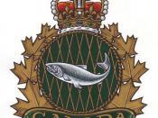 Fishery Officer heraldic badge
