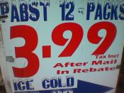 English: Image of mail in rebate offer on a 12pk of Pabst beer Photo by Brandie Uploaded on flickr with Attribution-Sharealike 2.0 license on July 12, 2005